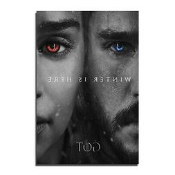 2017 TV Series Game of Thrones Art Silk Poster Wall Picture