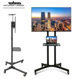 32 70 adjustable mobile tv stand mount