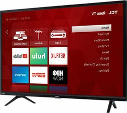 "TCL 32"" 720p 60Hz Roku Smart LED TV - Black"