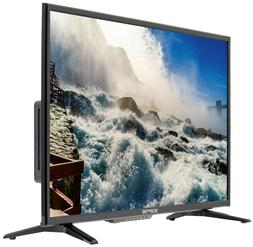 "32"" Class HD 720P LED TV Sceptre with DVD Player HDMI VGA US"