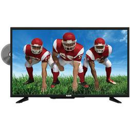 RCA 32-Inch HD LED TV with Built-in DVD Player & Remote Cont