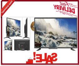 32 Inch Flat Screen Class 720P HD LED TV with Builtin DVD Pl
