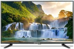 "Sceptre 32"" inch HD LED TV 720P HDMI USB Metal Black 2019"