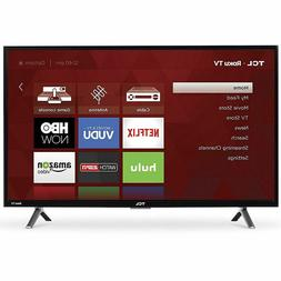 TCL 32-inch Roku Smart LED HDTV with 720p Resolution & 60Hz