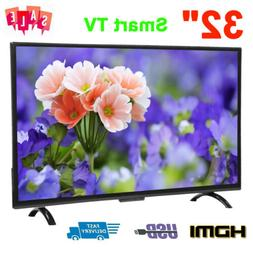 32 Inch Smart HD LED LCD TV HDR Color Screen 3000R Televisio