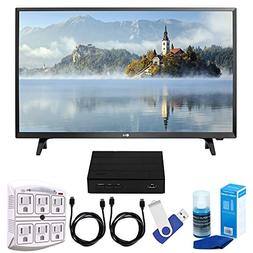 "LG 32LJ500B LJ500B Series 32"" Class LED HDTV  Plus Terk Cut-"