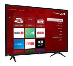 TCL 40S325 32-40-43-49 Inch 1080p Smart LED Build in Roku TV