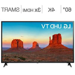 "LG 60"" Inch Class 4K Ultra HD LED LCD TV 60UK6090PUA Brand N"