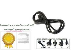UpBright New AC Power Cord Outlet Socket Plug Cable For LG E