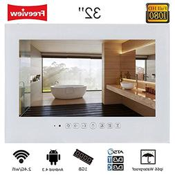 "Soulaca 32"" Android Smart White Waterproof Bathroom TV T320F"