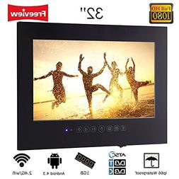 Soulaca 32 inch Black Android LED TV Waterproof Mounting T32