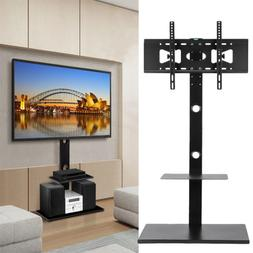Cantilever TV Stand with Shelf Mount Bracket Glass for 32 up