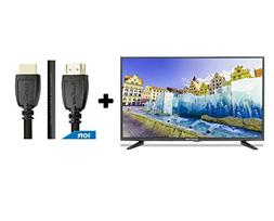 """32"""" Class FHD  LED TV  Plus HDMI 2.0 Cable with Ethernet Hig"""