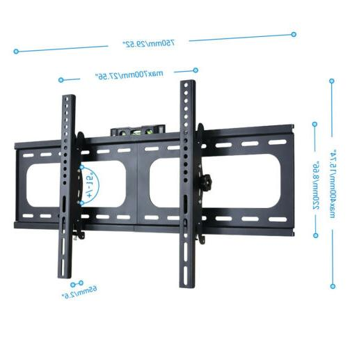 "32-75"" LCD Plasma Slim Tilt Wall Mount Bracket Up to"