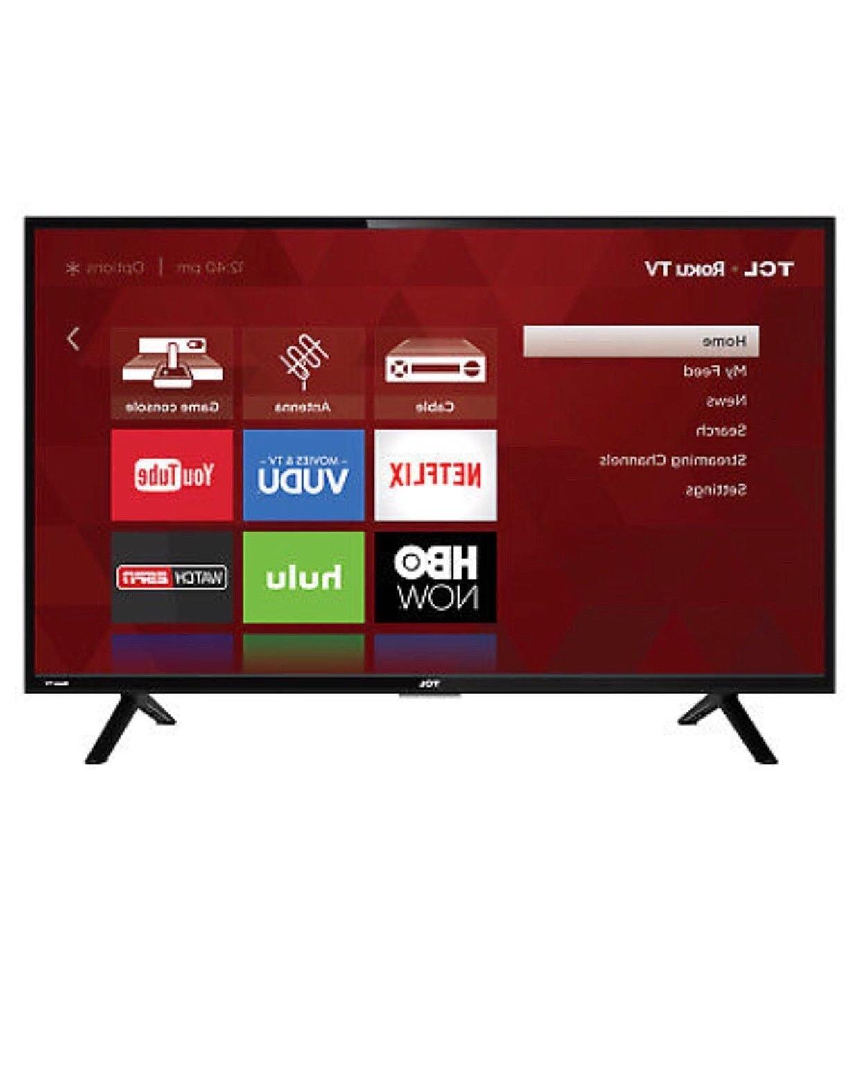 TCL 32-Inch 720p Roku LED HDTV with HDMI   32S305