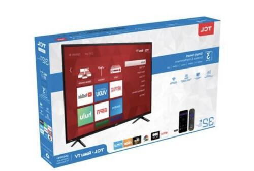 TCL Tv With In Roku And 30 Days Free Service