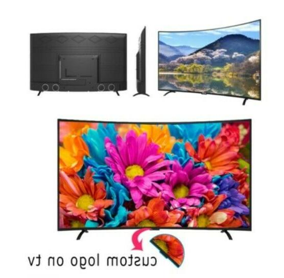 television samrt curved with
