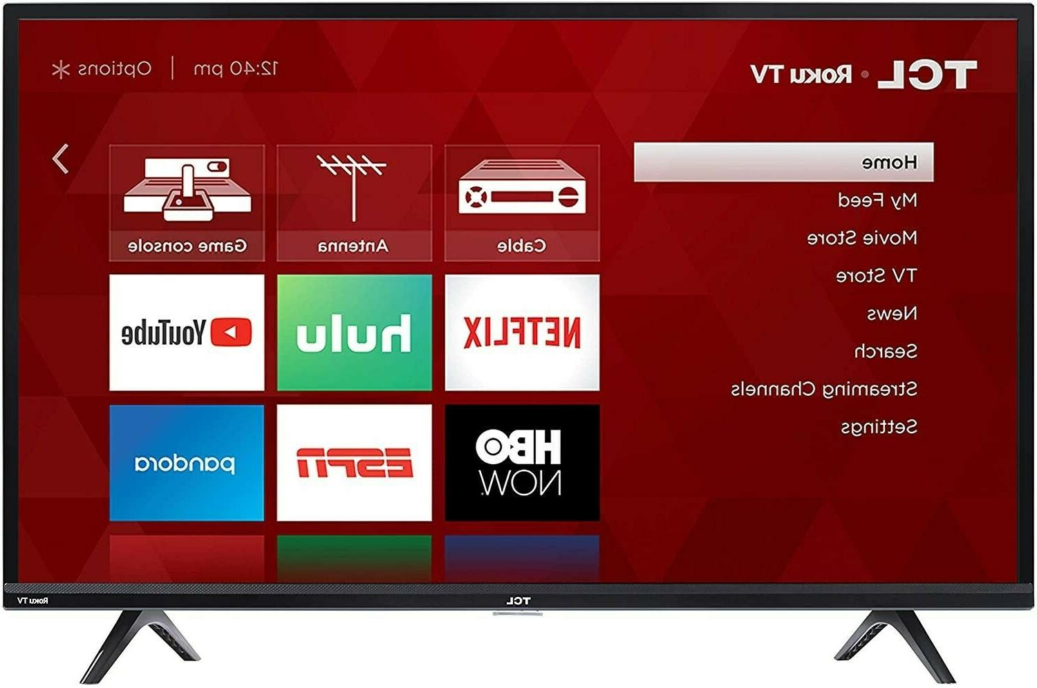 TCL 32S325 32 Inch 720p Roku Smart LED TV Compatible with