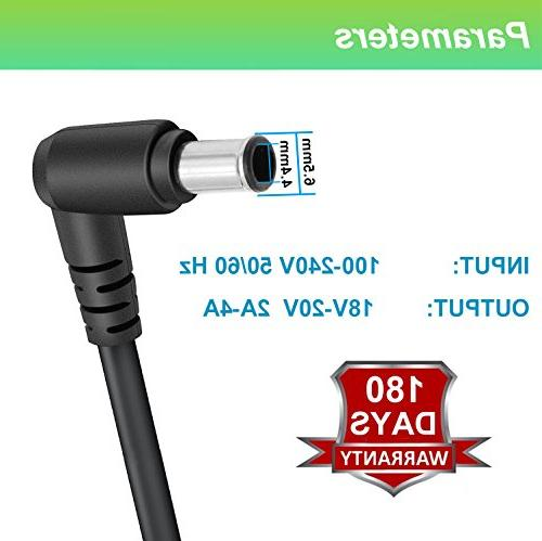 For Sony TV Adapter Charger Replacement Power Cord