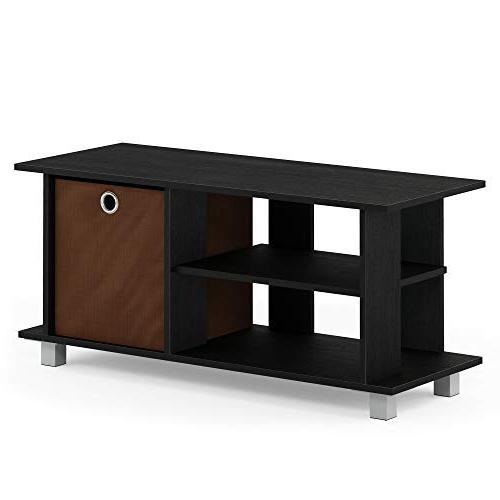 Furinno TV Entertainment Center Drawers,