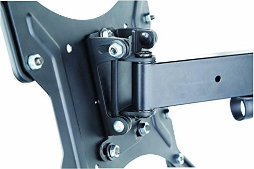 Husky Full TV Mount Swivel Duty Friendly Articulating Bracket fits 32-55 LED LCD Flat Screen with up to VESA Lbs Capacity