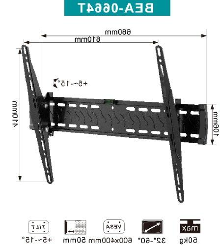 """Plixio Adjustable 32""""-60 Inch Sceen Flat Panel LED LCD TV with Level"""