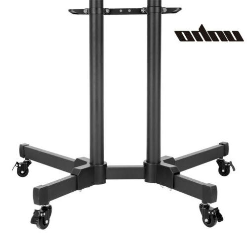 Adjustable TV Cart Mount Wheels Plasma 32- Home Office