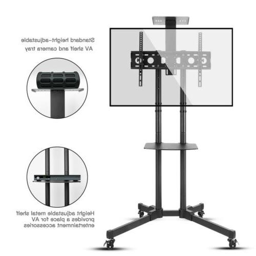 Adjustable Cart Mount Plasma Office