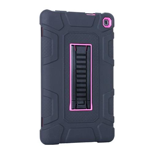 Amazon Fire Case Shock Hybrid Duty Defender Case with Kickstand, Skin Hard Cover