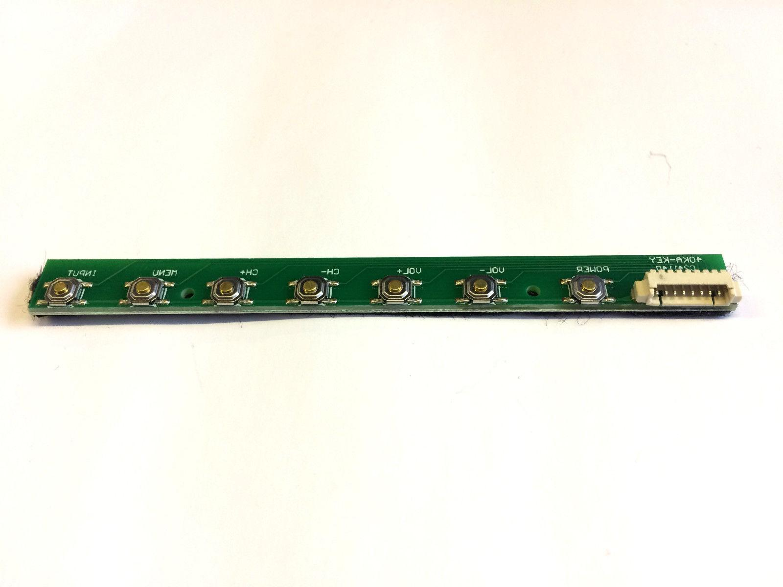 c32ansmt 32 inch del tv function button