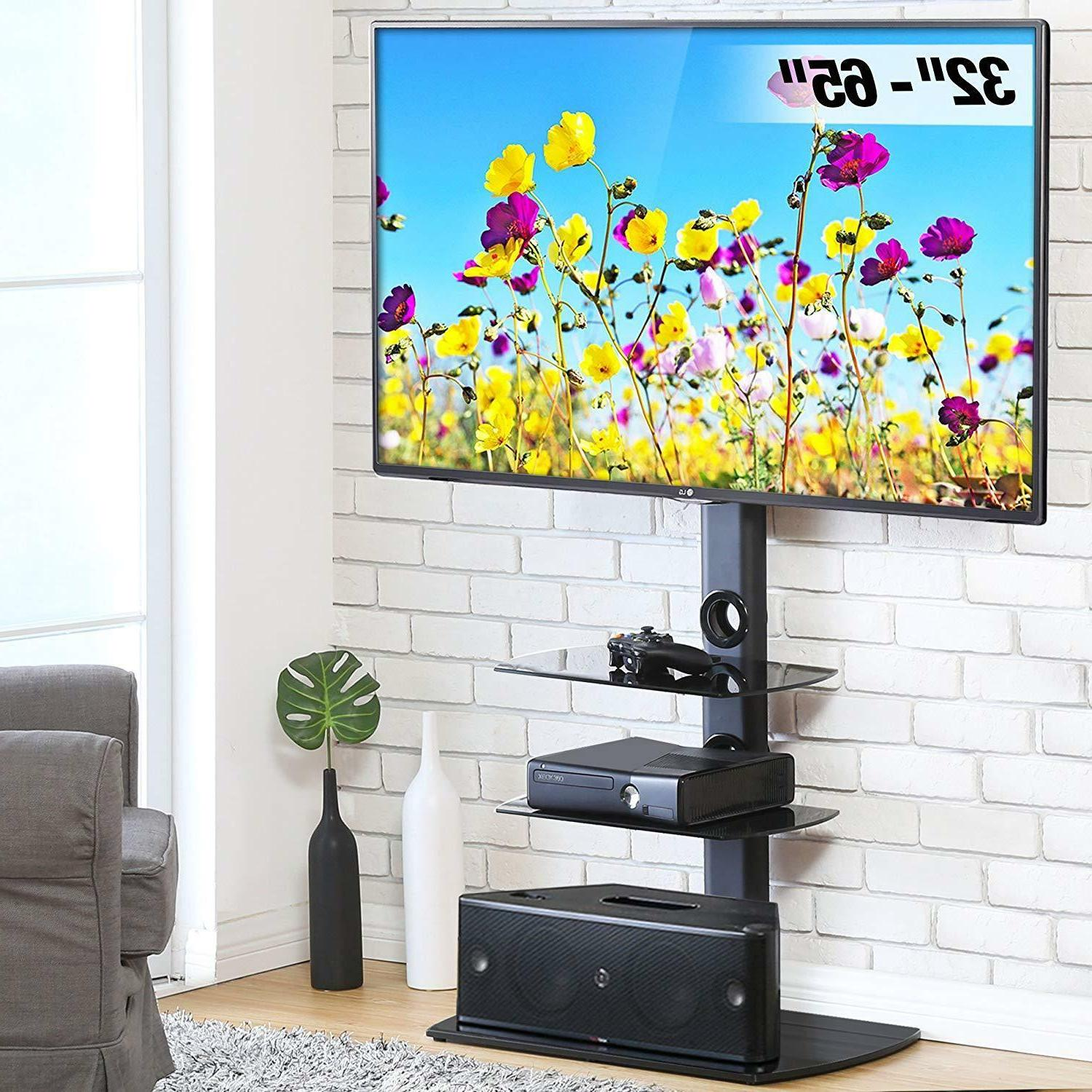 corner tv stand with shelves 32 65