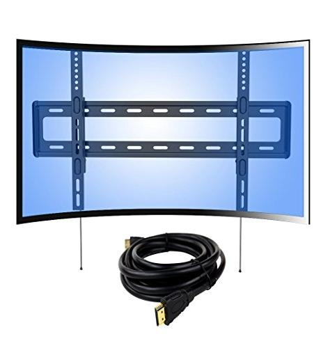 curved panel profile fixed tv