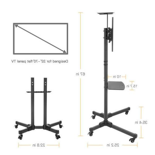 fits 32 inch TV Cart LCD Mobile