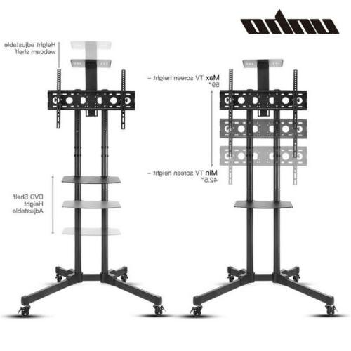 fits 32 inch LCD LED Panel Stand Wheels Mobile