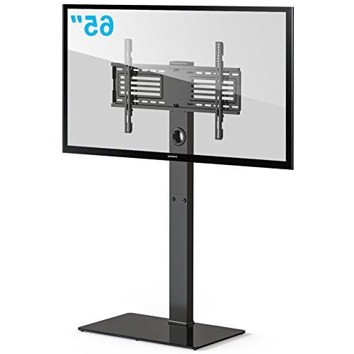FITUEYES TV Stand Base with Swivel Height 32 to TT107501MB