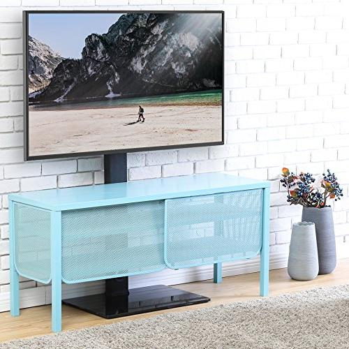 FITUEYES TV Stand Base Swivel Mount Height 32 to TT107501MB
