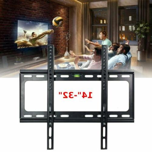 fixed led lcd tv wall mount bracket