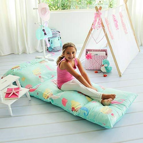 floor pillow bed cover
