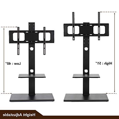 Rfiver Swivel Stand with Two for to 65 Inches TVs, TF1001
