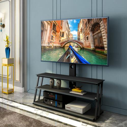 floor tv stand with swivel mount