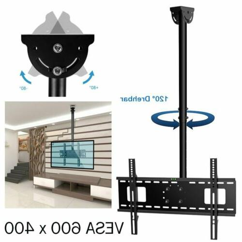FOLDING CEILING TV BRACKET LCD 17 22 24 32 42 55 65 75inch