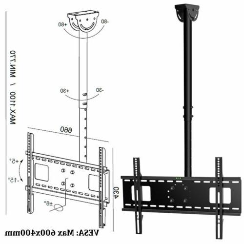 FOLDING CEILING MOUNT BRACKET 22 32 42 65 75inch
