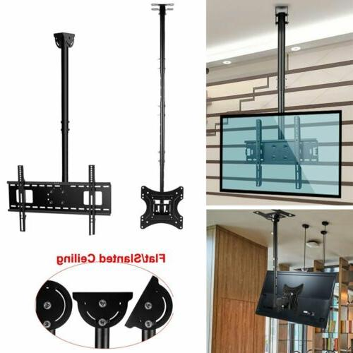folding ceiling tv mount bracket lcd led