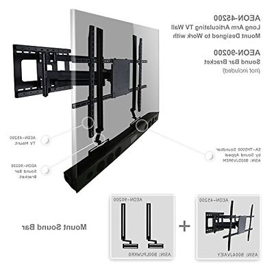 Full TV Mount with Long Extension to inch