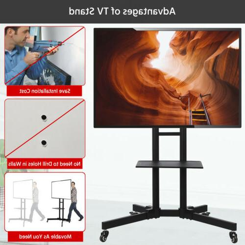 mobile tv stand mount universal flat screen