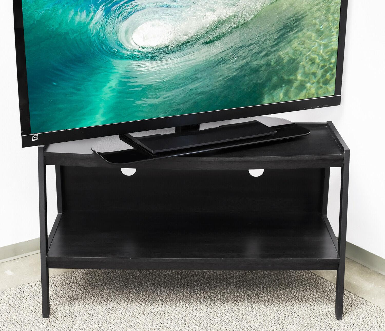 """Mount-It! Turntable Stand Base 32"""" 43"""" TV"""