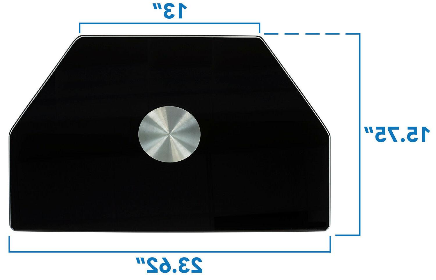 """Mount-It! TV Stand Base 32"""" 43"""" Inch TV"""