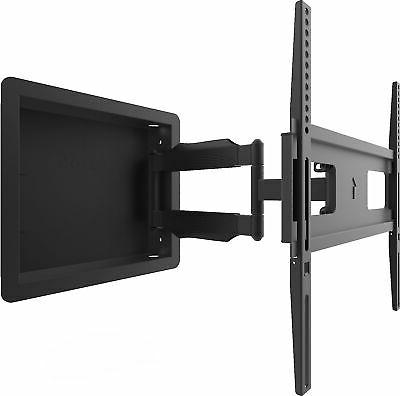 recessed wall motion tv mount