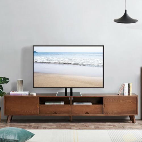 stable tv stand base mount adjustable height