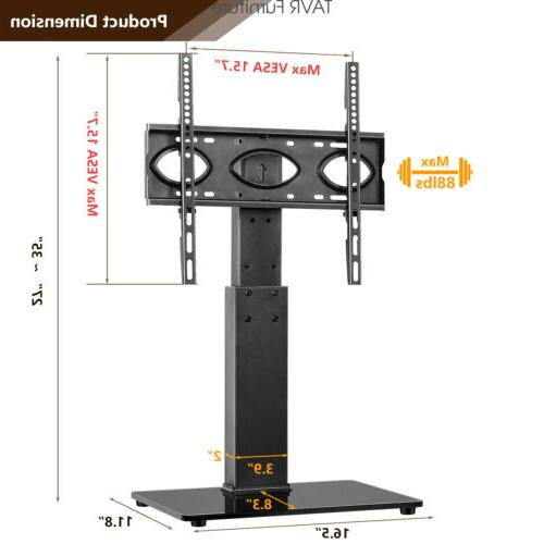 swivel table top tv stand base